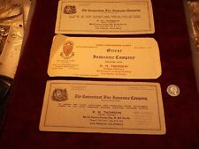"""LOT OF 3 VTG PLACARDS? """"ORIENT INSURANCE Co (HARTFORD, CT)"""" - LOS ANGELES AGENCY"""