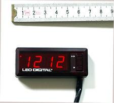 LED Horloge 12V voiture Kfz affichage de l'heure Auto bord DIGITAL