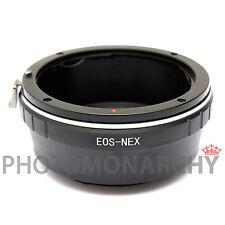 Anello adattatore obiettivo ottiche CANON EOS su SONY NEX-5 NEX-5N NEX-5D NEX-5T