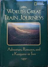 National Geographic World's Great Train Journeys Adventure, Romance & a Kangaroo