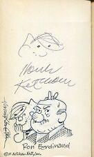 HANK KETCHAM+MARCUS HAMILTON+RON FERDINAND ORIGINAL DENNIS THE MENACE ARTWORK Comic Art