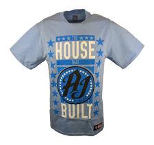 The House that AJ Styles Built WWE Carolina Blue Mens T-shirt