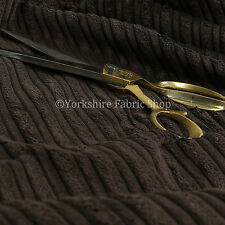 Ameublement sellerie tissu haut bas doux velours texturé cordon couleur chocolat