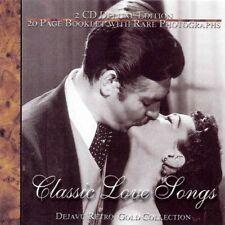 Classic Love Songs (Dejavu Retro Gold) Sarah Vaughan, Ella Fitzgerald, .. [2 CD]