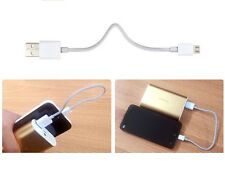 (FreeShip) 20cm Short Cable Micro USB for Power Bank External Battery Charger