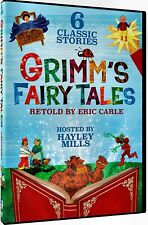 NEW DVD-  GRIMMs FAIRY TALES - 6 CLASSIC CHILDREN STORIES - HAYLEY MILLS