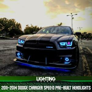 2011-2014 Dodge Charger Spec-D Pre-Built Headlights