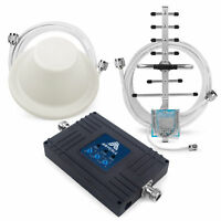 900/1800/2100MHz Mobile Signal Booster 70dB Gain Amplifier Kit for Vodafone O2