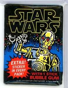1977 TOPPS STAR WARS SEALED PACK Z4082