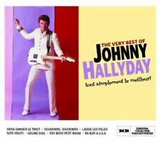 CD de musique rock Johnny Hallyday avec compilation