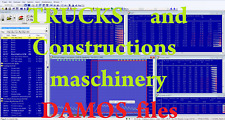 Trucks and construction maschines DAMOS Ols A2L Hex  files collection