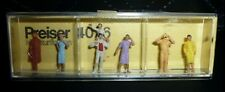 Preiser, Vintage, New Package, Item# 4026, Ho scale, Standing Train Spotters, 6x
