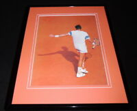 Jimmy Connors 1991 Framed 11x14 Photo Display