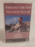 Tennessee Ernie Ford - How Great Thou Art - Cassettes