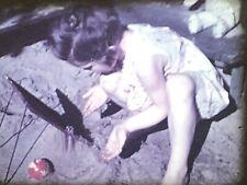 16mm Farbfilm um 1938 Privatfilm Kind im Pool #34