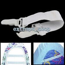 4pcs/Set Fitted Bed Sheet Grip Mattress Gripper Clip Fastener Elastic strap NEW