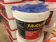 Jaguar Rodenticide Blox Rat And Mice Bait4 KgRat Poison Mouse Blocks Free Gloves