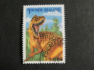 New Zealand 1993 Dinosaur $1.50  - CTO Full Gum