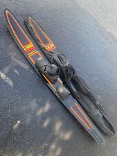 "HO Graphite T1 65"" Slalom Water Ski w/Connelly Medium bindings See Description"