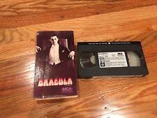 DRACULA VHS MCA 1985