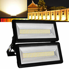 100W LED Floodlight Modular Spotlight Outdoor Project Lamp Warm White IP67 UK
