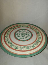"""Pfaltzgraff French Quarter Footed Pedestal Cake Plate Stand 12 1/8"""""""