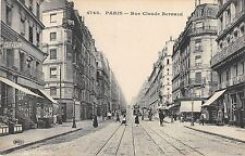 CPA 75 PARIS Ve RUE CLAUDE BERNARD