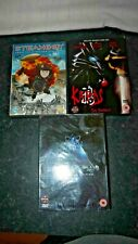 joblot of manga dvd x3