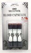 6 x 5ml Bottiglie di sangue finto Capsule PARTY HORROR GORE Spaventoso Make  Up Costume 7d1608d450bb