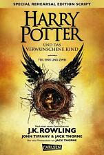 Harry Potter and the Cursed Child based on an original new story by J.K. Rowling