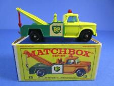 MATCHBOX 13 DODGE WRECK TRUCK, NICE EXAMPLE/BOXED!