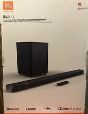 JBL Bar JBLBAR51 5.1 4K Ultra HD 5.1 Soundbar True Wireless Surround Speakers