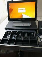 Micros Oracle 6 Pos Workstation terminal 400914-102 Printer Cash Register w Key