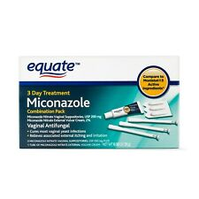 Equate, Miconazole Vaginal Antifungal 3-Day Treatment, 200 mg external vulvar