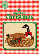 Craft Books: #1503 Gordon Fraser Christmas Goose Cross Stitch Pattern