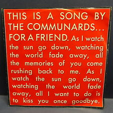 COMMUNARDS For a friend / Victims ( live ) 886226 7
