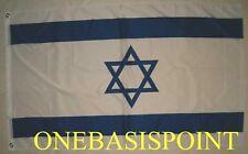 3'x5' Israel Flag Outdoor Indoor Jewish Hebrew Huge Star Of David Zionist 3x5