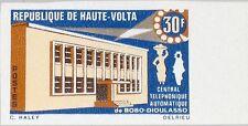 Upper volta haute-volta 1968 245 u 190 Automatic telephone Office communicationmnh