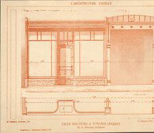 TONGEREN TONGRES SALLE DES FETES ARCHITECTE FOUCART IMAGE 1917/20