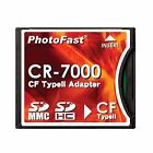 PhotoFast CR7000 SD SDHC SDXC to CF CompactFlash Compact Flash Convert Adapter