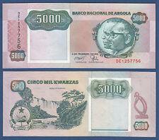 ANGOLA 5000 Kwanzas 1991  aUNC  P.130 b
