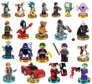 LEGO Dimensions Minifigures Miniatures lego figures with disks  XBOX PS WII U