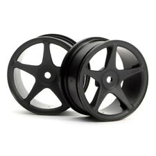 HPI 3696 SS Wheel 26mm Black (2)