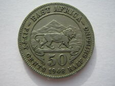 East Africa 1948 50 Cents VF