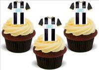 Newcastle United Shirts Championship League Stand Up Premium Card Cake Toppers