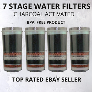 Aimex 7 Stage Water Filter Replacement Cartridge Carbon Ceramic 4 Water Filters