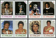 St. Vincent  Scott #894-#897 Complete Set of 4 Pairs Mint Never Hinged