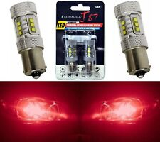 LED Light 80W 1156 Red Two Bulbs Front Turn Signal Replace Upgrade Show Use JDM