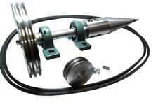 Tronchi Splitter Kit Legno Taglierino Vite Motore Elettrico Cono 80 MM Pesante