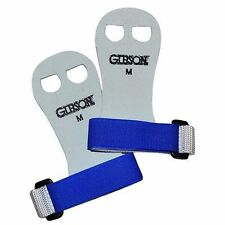 NEW Gibson Rainbow Gymnastics Palm Hand Grips White/Royal BLUE MEDIUM Free Ship